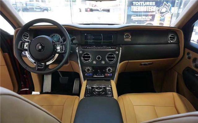 2019款勞斯萊斯庫里南 極品尊貴SUV熱銷