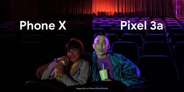 谷歌Diss苹果iPhone X:价格贵600美元、夜拍却没Pixel 3a好