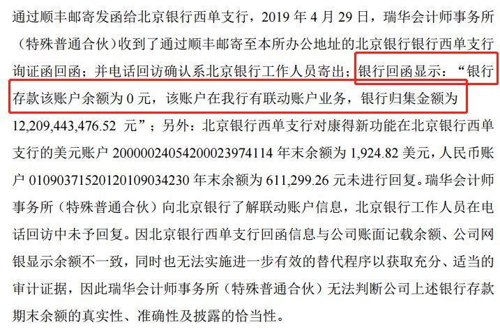 康得新大股东被抓 划走122亿存款一分不留 (组图)
