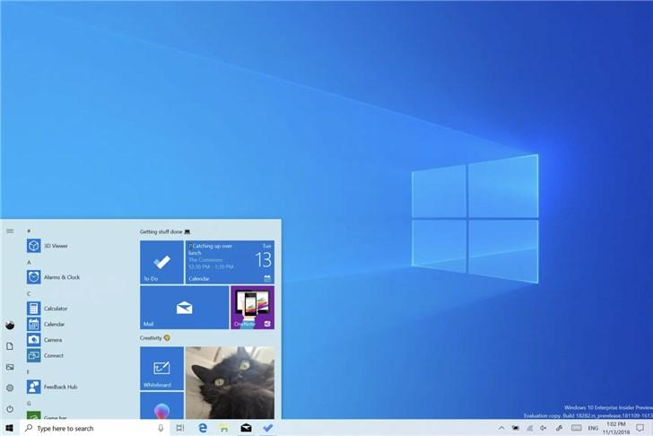 微软推送2019 Windows 10更新五月版18362.145发布预览更新