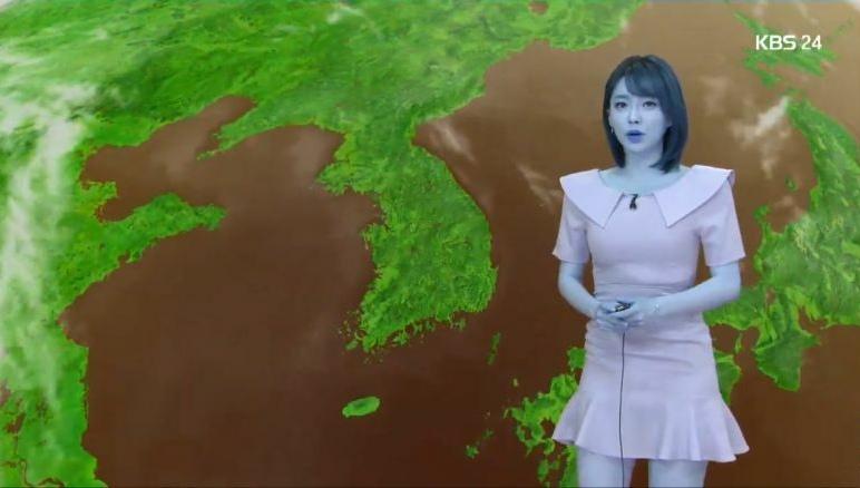 韩国电视台出现异常画面 蓬佩奥脸变蓝色