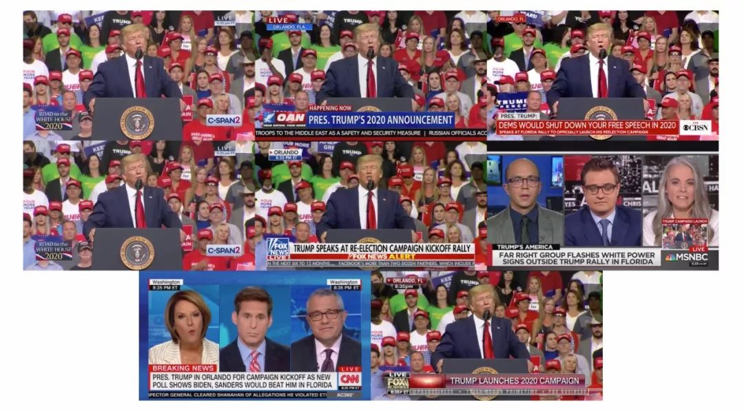 cnn直播_好疼!特朗普演讲造势,被CNN直播打脸5次_外媒_热点事件_四月网