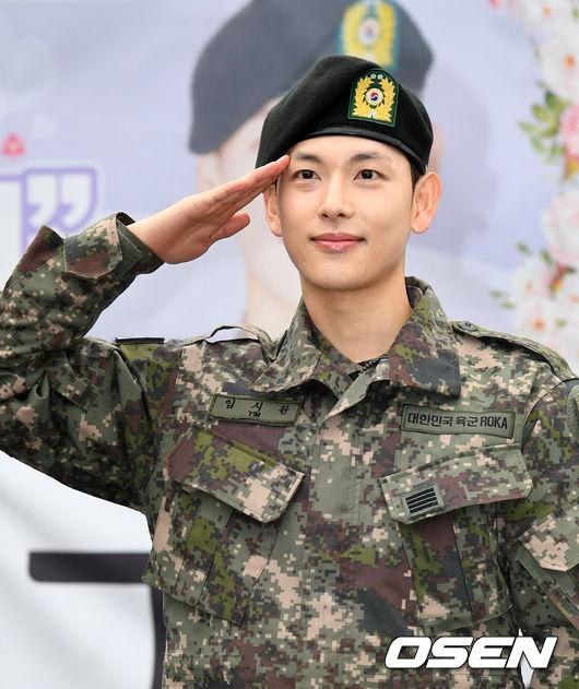 韓國男星林時完服兵役請假123天被批 軍方:不違規