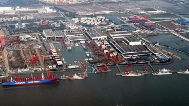 首批8艘055同时开建?中国两大造船厂又有新变化