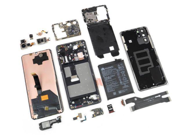 日媒把华为最新款手机拆了,结果发现一组惊人的数据!