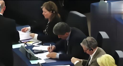 欧洲议会要求港府释放示威者 驻港公署连发三问驳斥