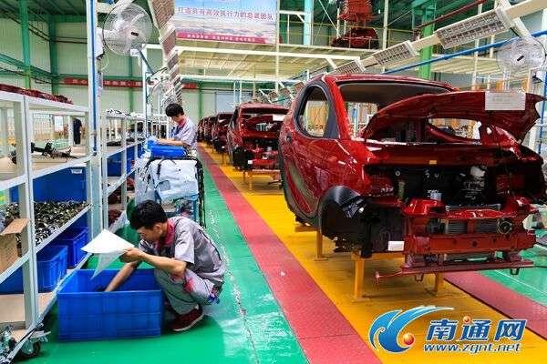 江苏如皋新能源汽车产业发展势头迅猛