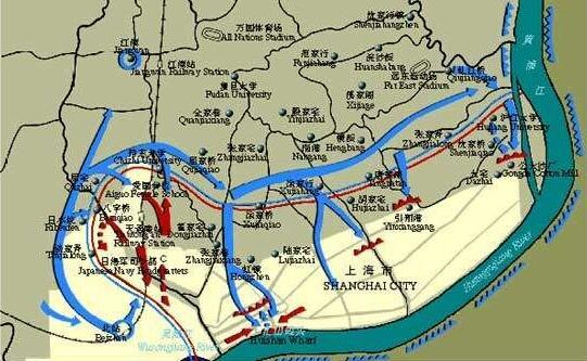 """""""铁拳"""":淞沪会战中国军队一次不成功的战术尝试"""