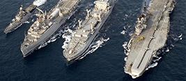 印度海军上将:24小时监控中国海军!
