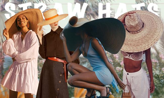 有了这些全球断货的巨型草帽 今年肯定是晒不黑了