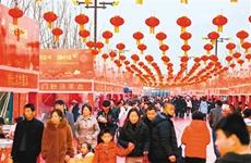 西咸新区沣东新城昆明池成全国最热门打卡景点