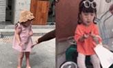 亲妈当街飞踹模特女童,以前打女儿画面也被曝出来