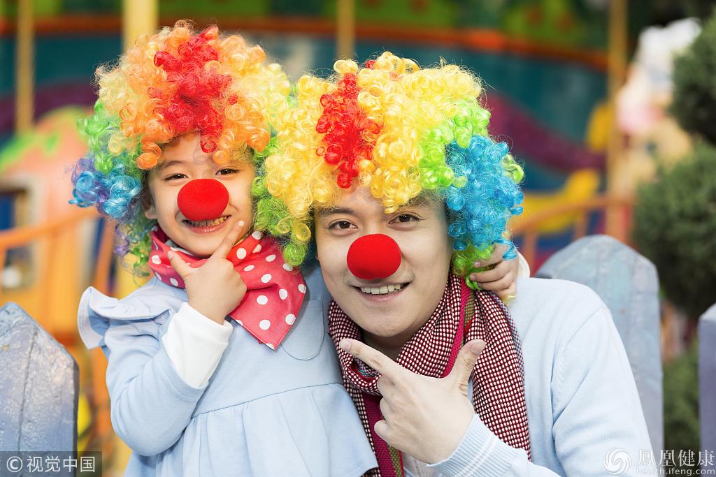 """心理医生:关爱自己从做一个""""小丑""""开始"""
