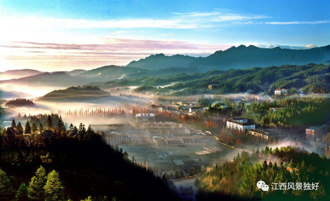 毛澤東,朱德等老一輩無產階級革命家在井岡山創建了中國第一塊農村