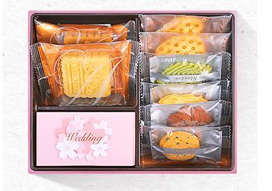 众口难调?四款懂你的爱哆哆结婚喜饼礼盒盛装上市!
