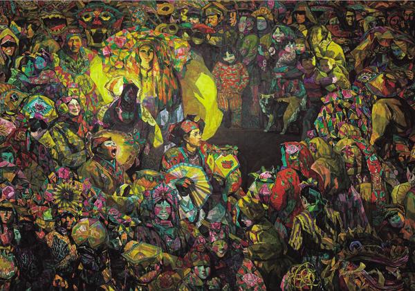2013年中国画展征稿_著名油画家周卫作品欣赏:创造油画艺术的中国方式_凤凰文化